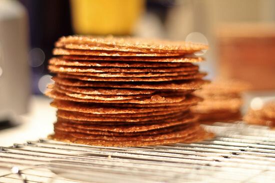 Espresso Hazelnut Lace Cookies | The Spiced Life