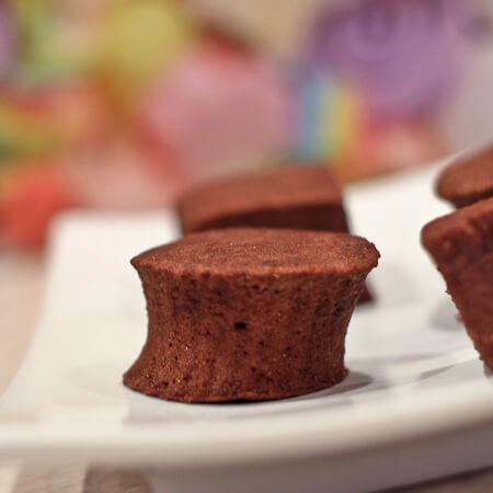 Peppermint Dark Chocolate Marshmallows
