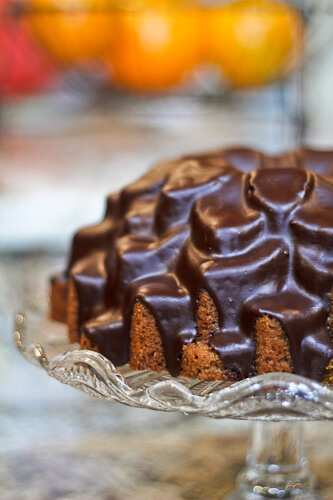 Chocolate Glazed Latte Bundt Cake