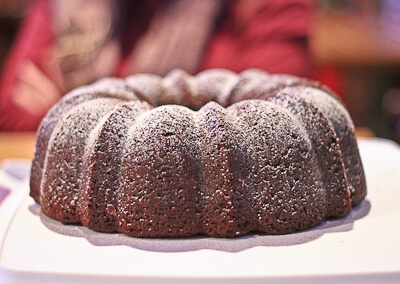DOuble Chocolate Swirled Bundt Cake