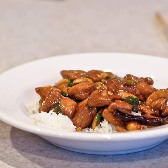 Kung Pao Chicken from The Chinese Takeout Cookbook | The Spiced Life