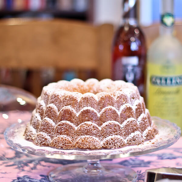 #BundtAMonth: Vanilla Orange Bundt Cake with a Hint of Coconut | The Spiced Life