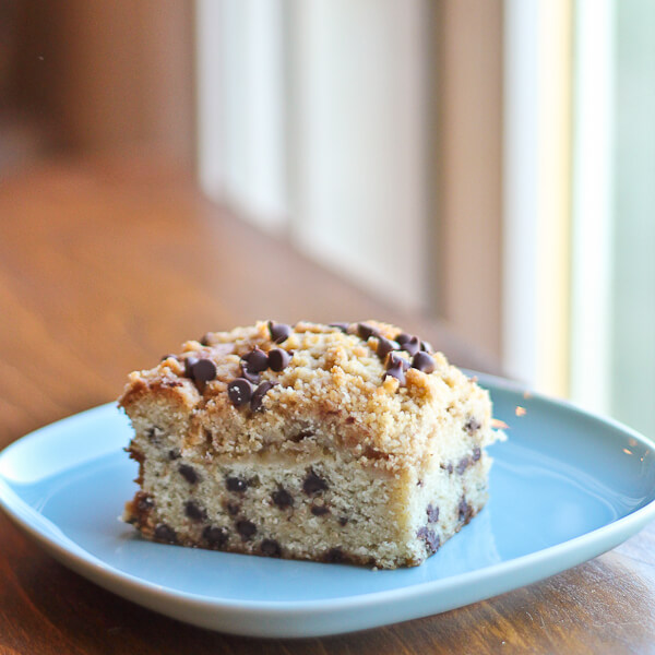 #ChocolateParty: Chocolate Chip Buttermilk Crumb Cake | The Spiced Life