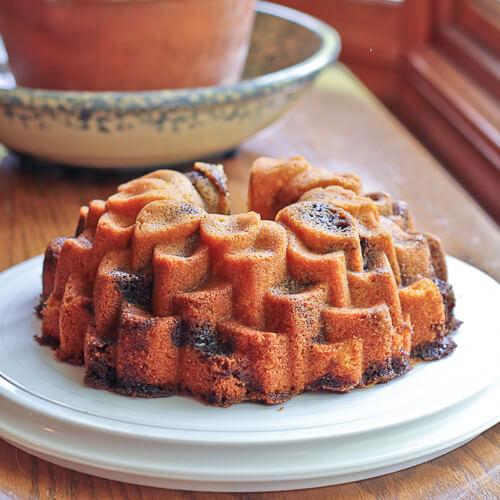 Espresso Swirled Bundt Cake