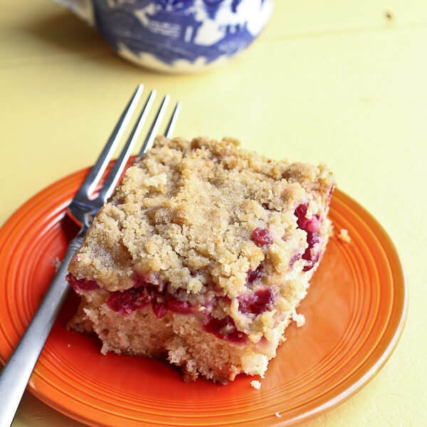 Sour Cherry Crumb Cake | The Spiced Life